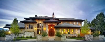 Boise Idaho Custom Home at Crescent Rim