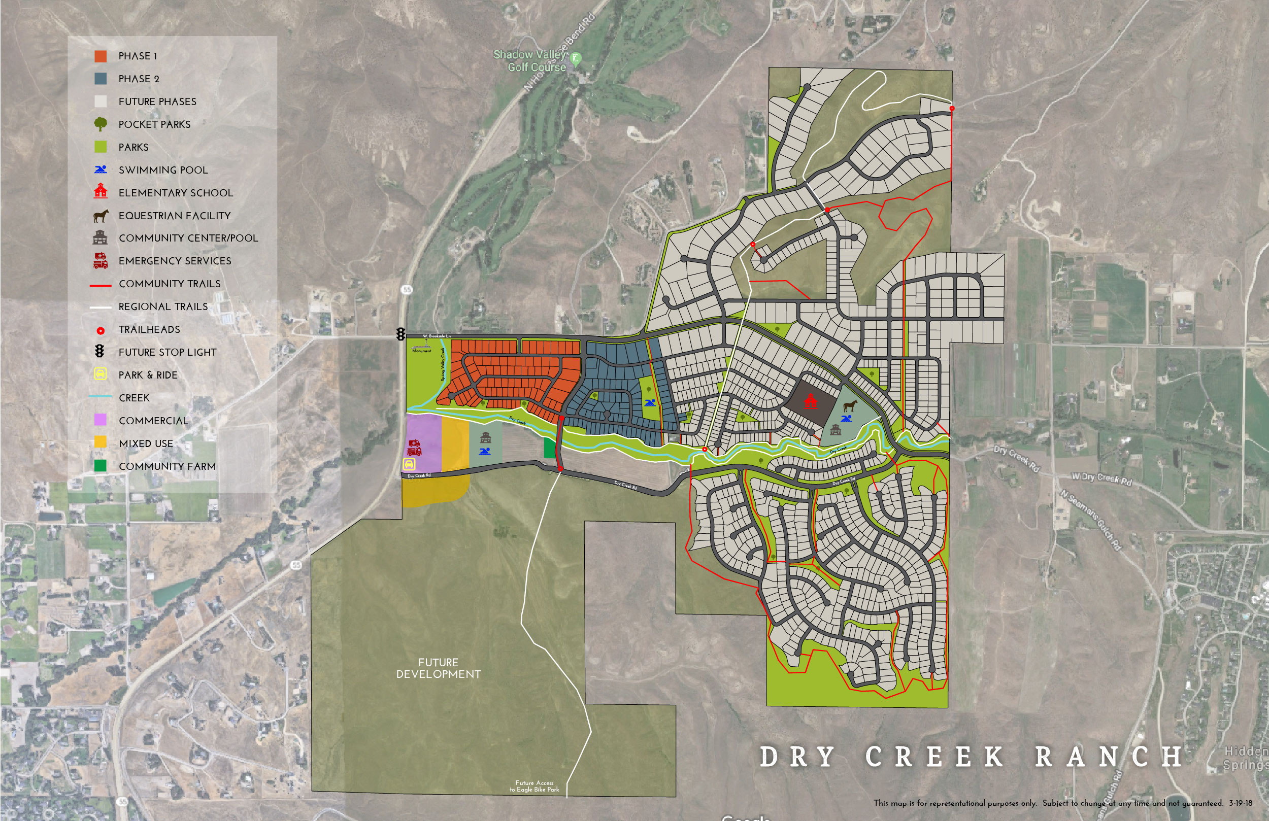 Dry Creek Ranch Boise Idaho