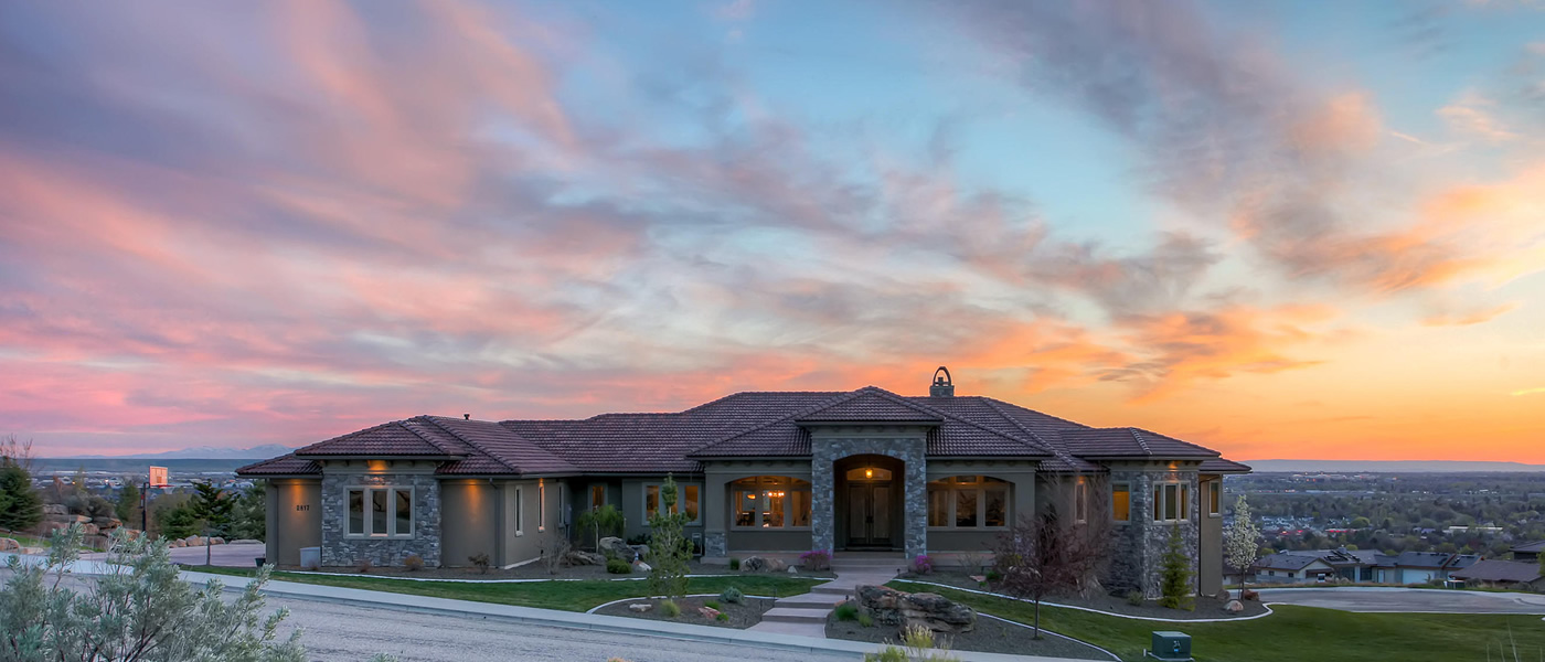 Foothills Custom Home in El Paseo and Boulder Heights
