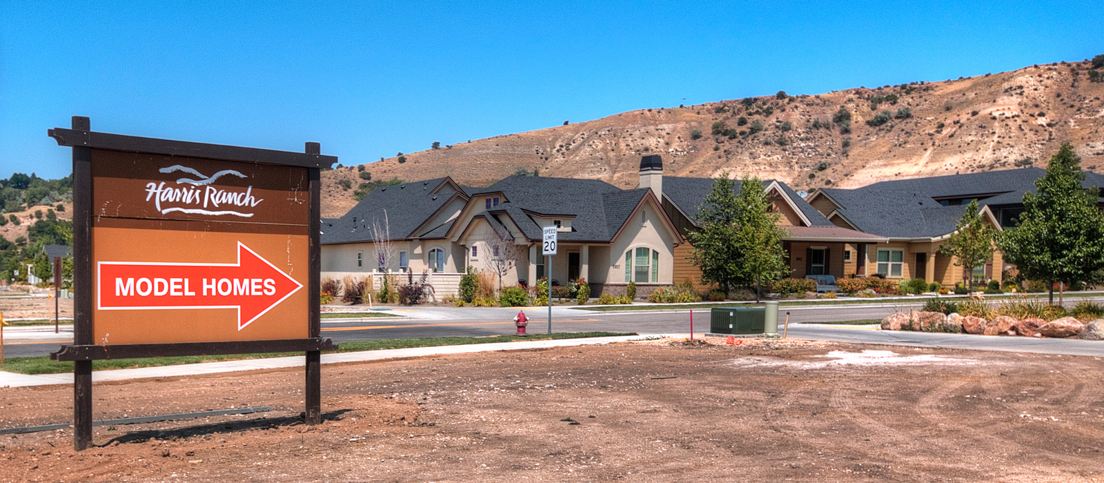 Harris Ranch subdivision in northeast Boise Idaho