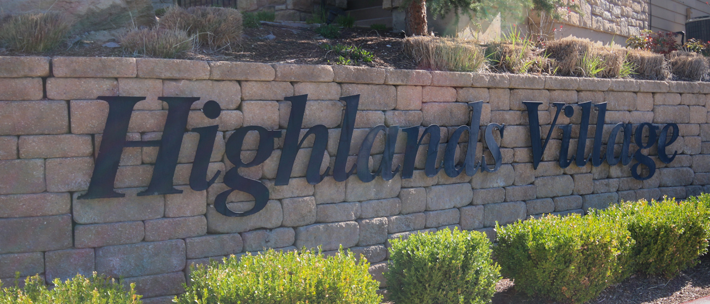 Highlands Village Subdivision Boise Idaho