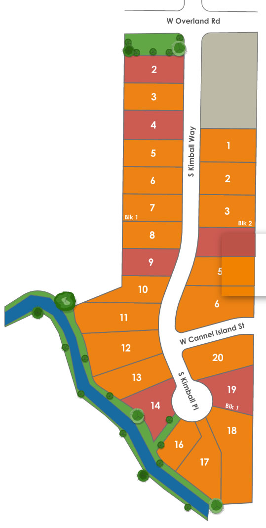 Maple Creek Subdivision Plat Map