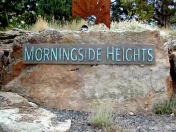 Morningside Heigths Subdivision Monument Entrance