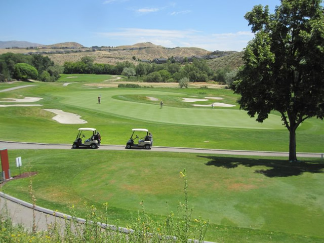 Quali Hollow Golf Course at Eyrie Canyon in North Boise Idaho