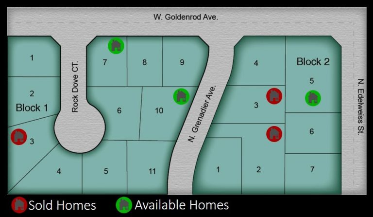 Spotted Dove Subdivision Plat Map