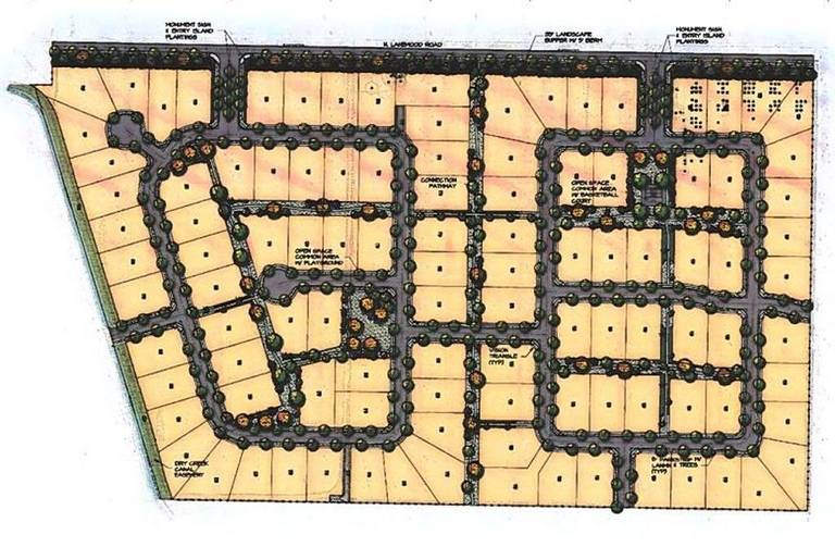 Eagle Mountain Estates Plat Map (aka Brookway)