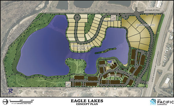 Eagle Lake Subdivision Plat Map