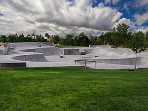 Eagle Idaho Skateboard Park