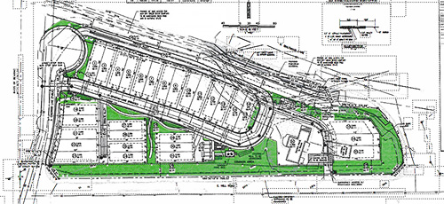 Eastfield Subdivision plat map