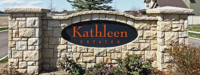 Kathleen Estates Community Entrance