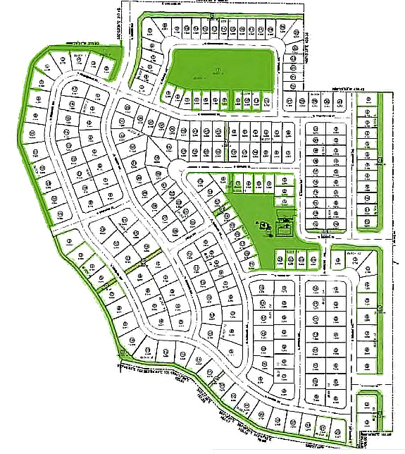 Memory Ranch Subdivision Plat Map