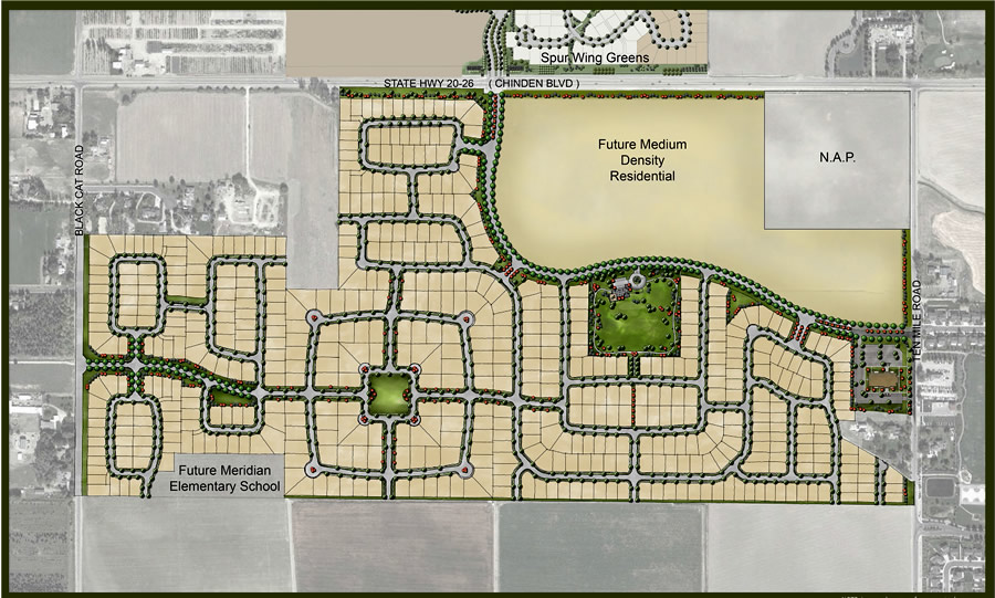 Bainbridge Community Plat Map