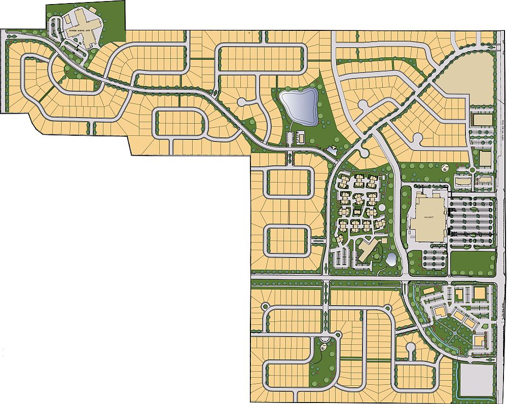 Bridgetower West Plat Map. View Homesites