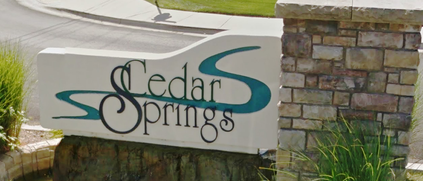 Cedar Springs Neighborhood Meridian Idaho