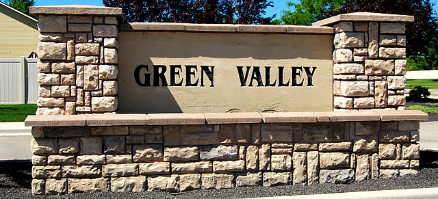 Green Valley Subdivision Meridian Idaho
