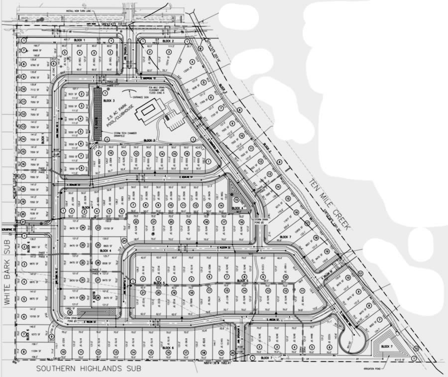 Warrick Subdivision Meridian Idaho Plat map