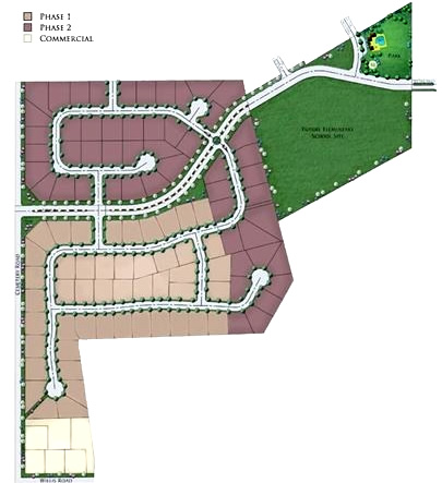 Meadow Park Plat Map, Middleton Idaho