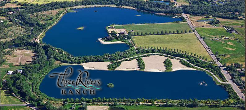 Three Rivers Ranch Exclusive Luxury Subdivsion in Eagle Idaho