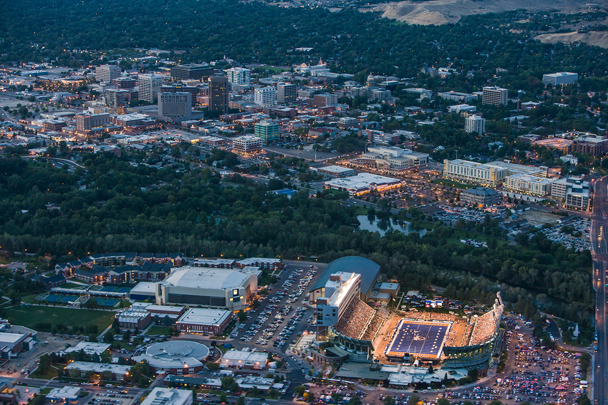 Boise State University Football Field- Bronco Stadium