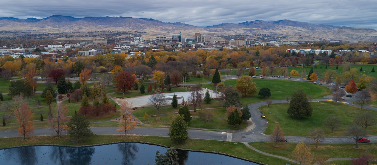 Julia Davis Park Downtown Boise Idaho