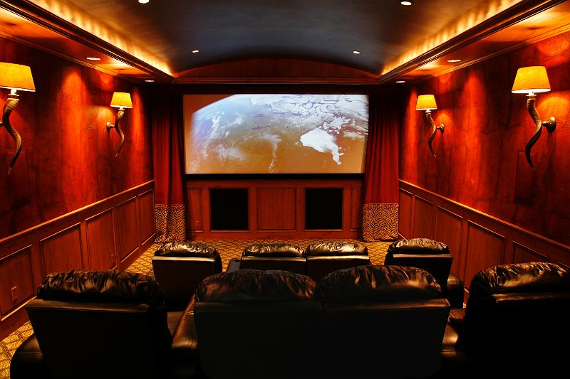 Boise Idaho Home Theaters